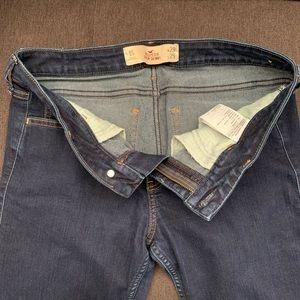 Dark- Wash Super Skinny Hollister Jeans